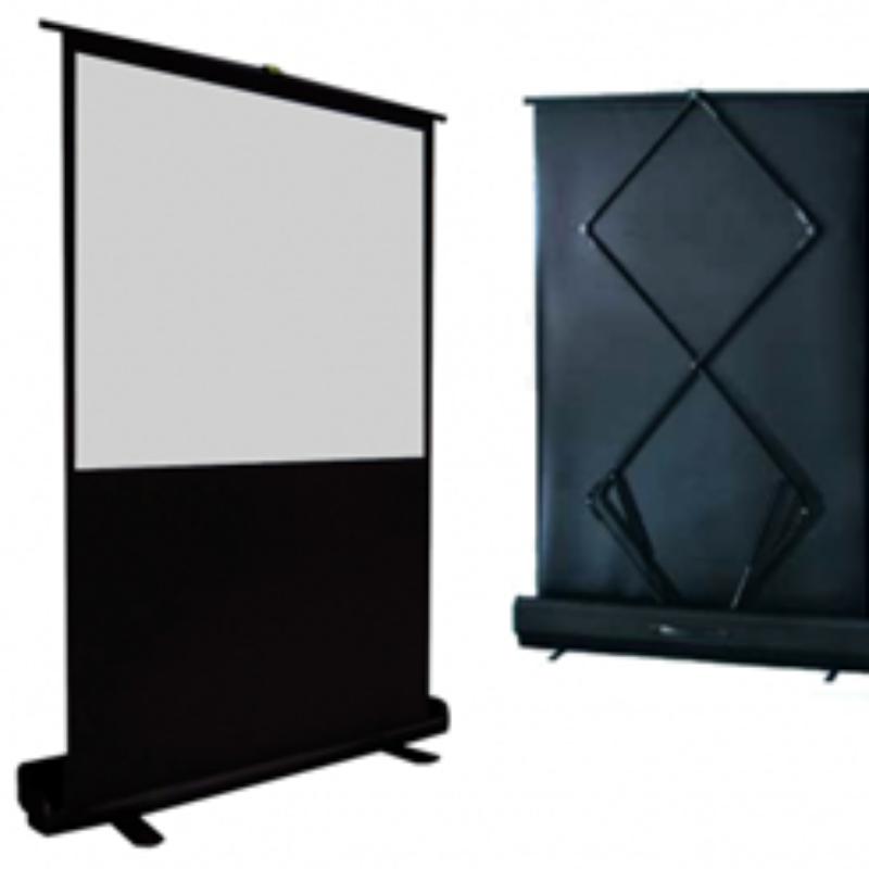 Vertex Floor Screen จอรับภาพแบบตั้งพื้น ขนาด 80 นิ้ว