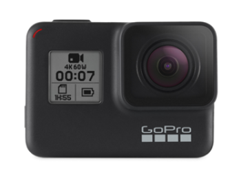 GoPro Model Hero 7 Black 4K 60 FPS, 12MP