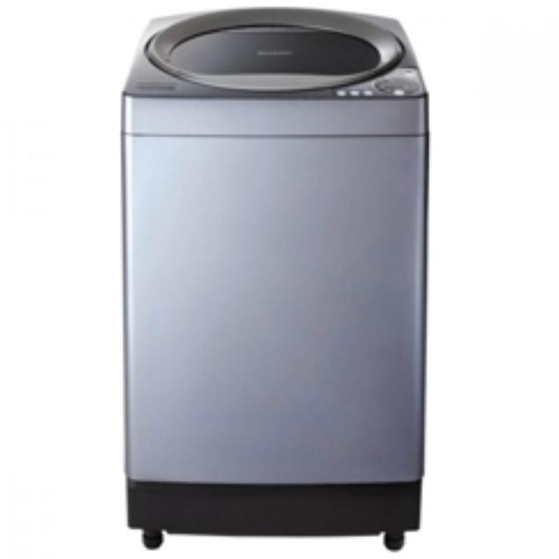 SHARP เครื่องซักผ้าฝาบน รุ่น ES-U10HT-S