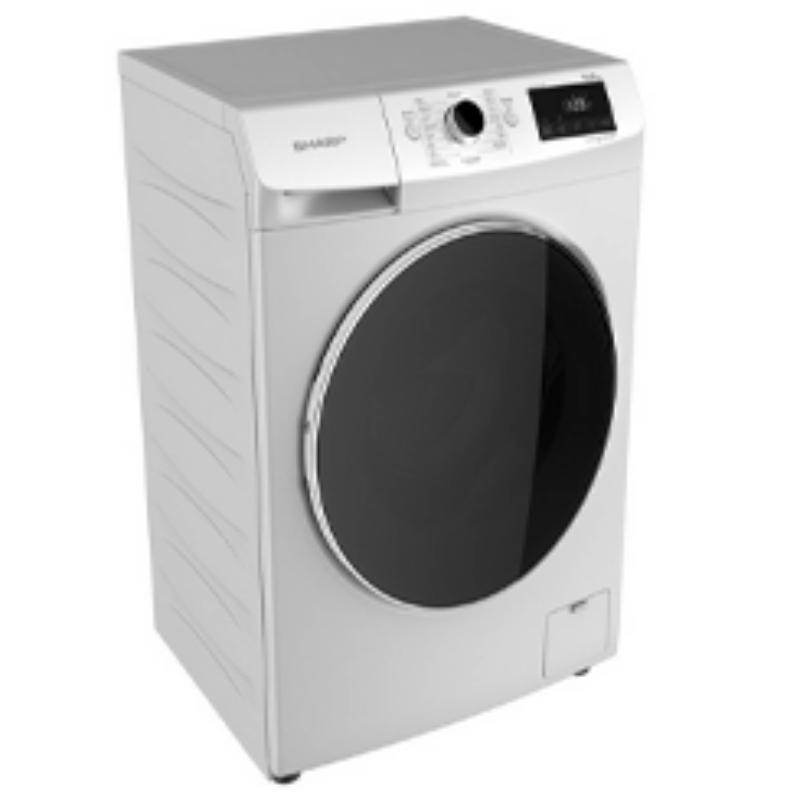 SHARP เครื่องซักผ้าฝาหน้า (10 กก.) รุ่น ES-FW1010W