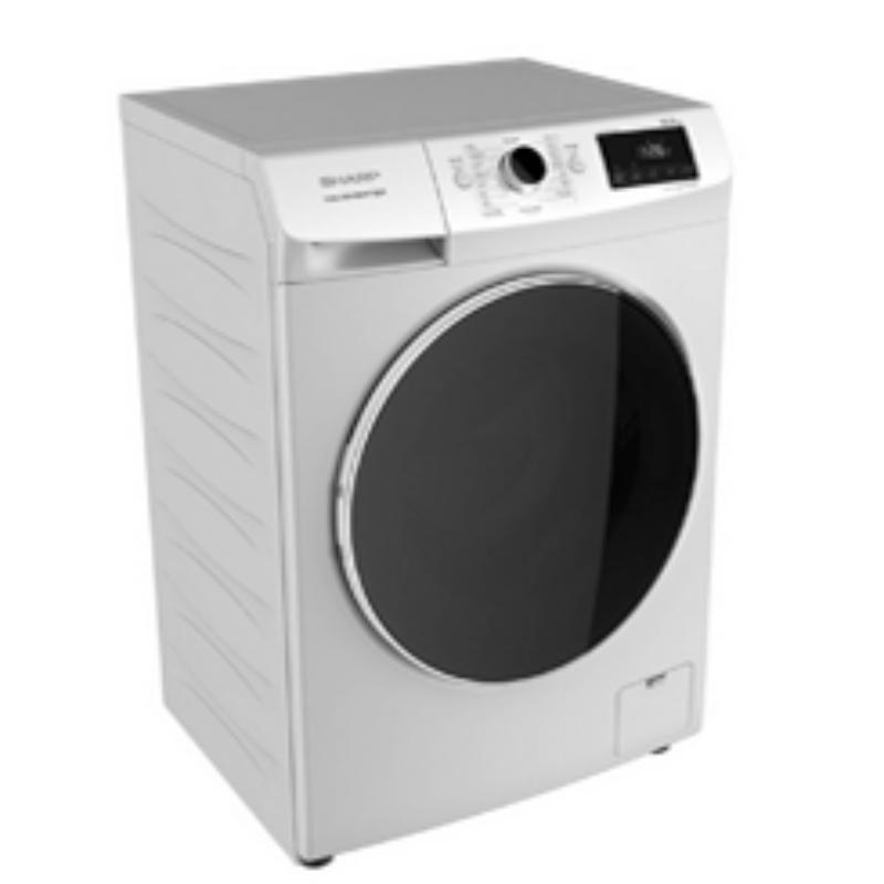 SHARP เครื่องซักผ้าฝาหน้า (10 กก.) รุ่น ES-FWX1014W