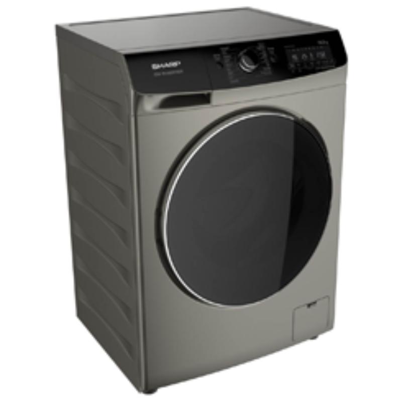SHARP เครื่องซักผ้าฝาหน้า (10 กก.) รุ่น ES-FWX1014G
