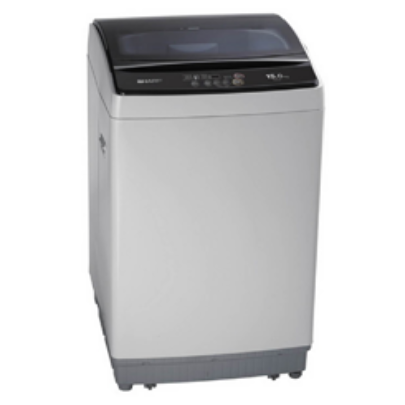 SHARP เครื่องซักผ้าฝาบน (15 kg) รุ่น ES-W159T-SL