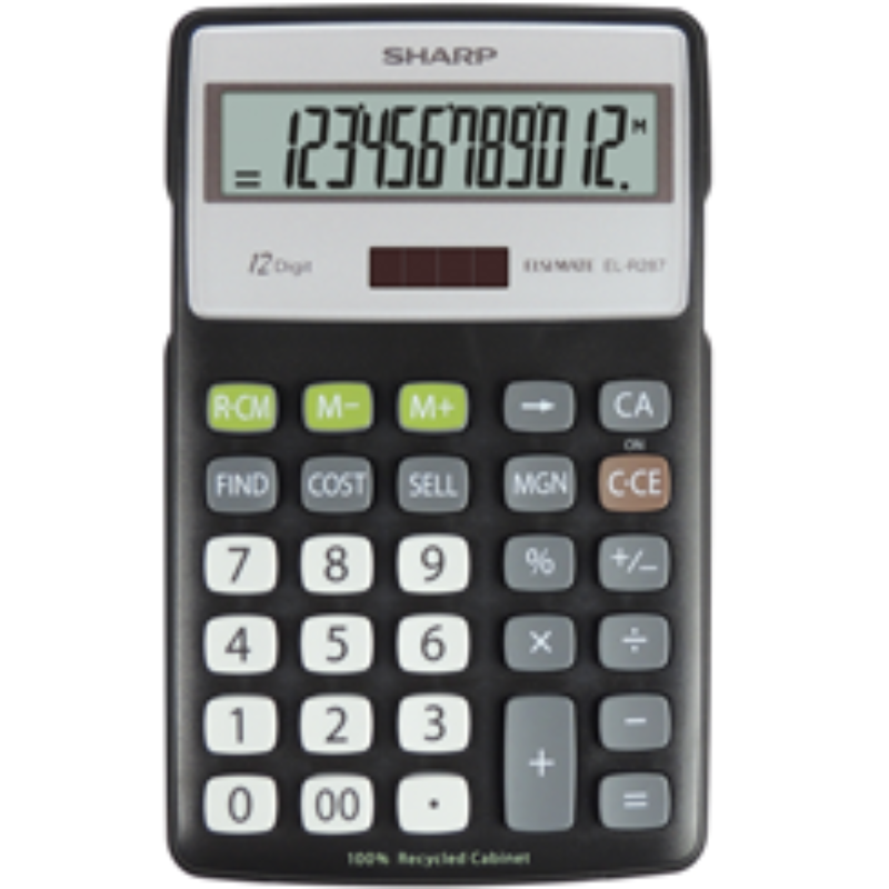 Sharp Calculator Model EL-R287