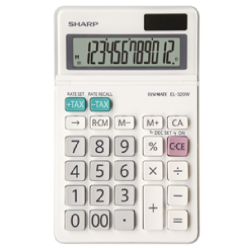 Sharp Calculator Model EL-320W