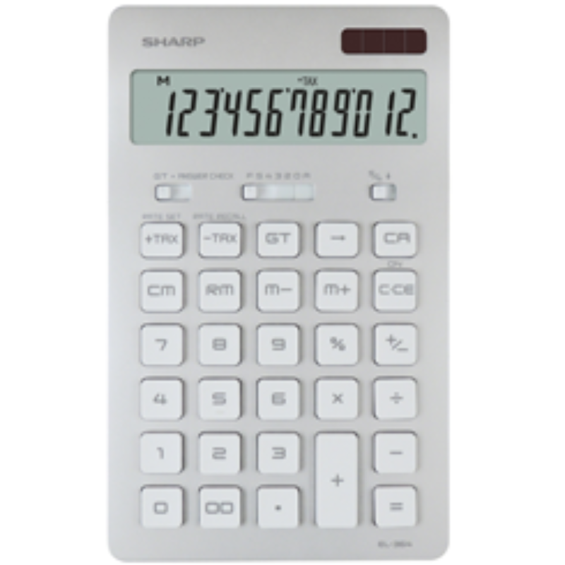Sharp Calculator Model EL-364