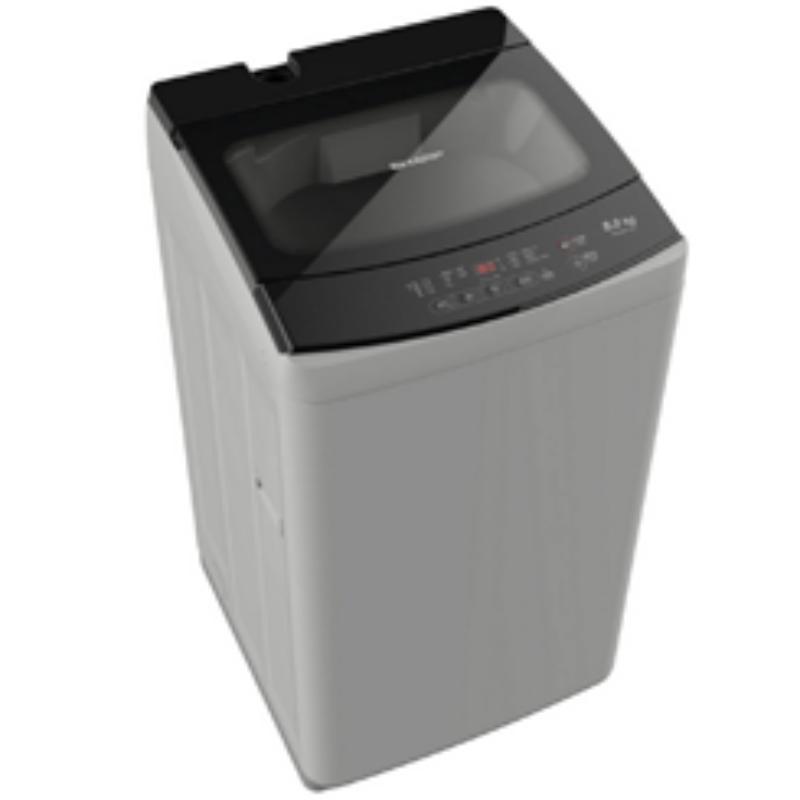 SHARP เครื่องซักผ้าฝาบน (8 kg) รุ่น ES-W80T-GY