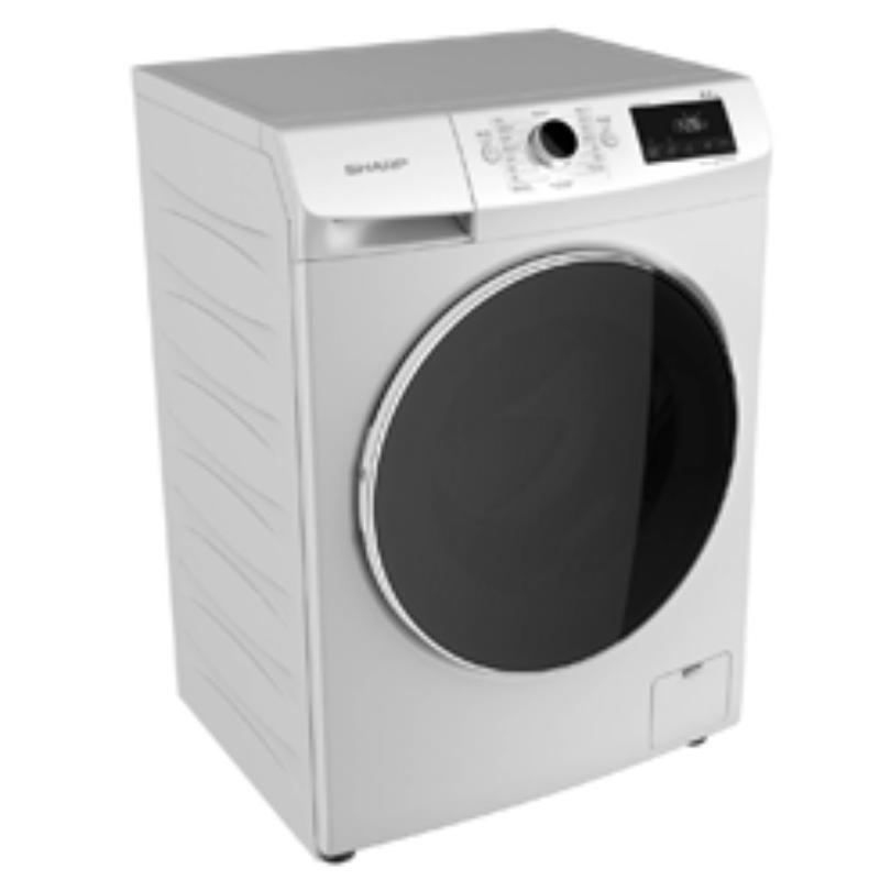 SHARP เครื่องซักผ้าฝาหน้า (8 kg) รุ่น ES-FW810W