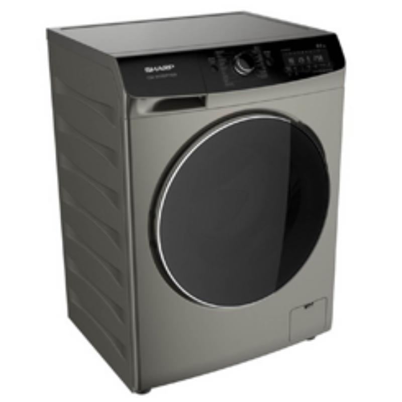 SHARP เครื่องซักผ้าฝาหน้า (8 กก.) รุ่น ES-FWX812G