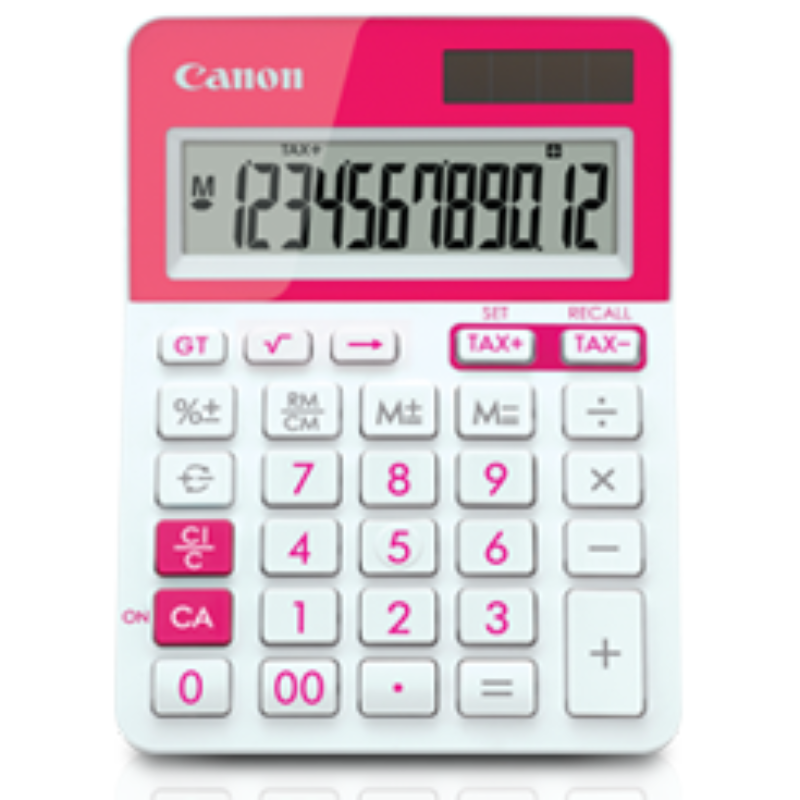 Canon Calculator Model LS-123T