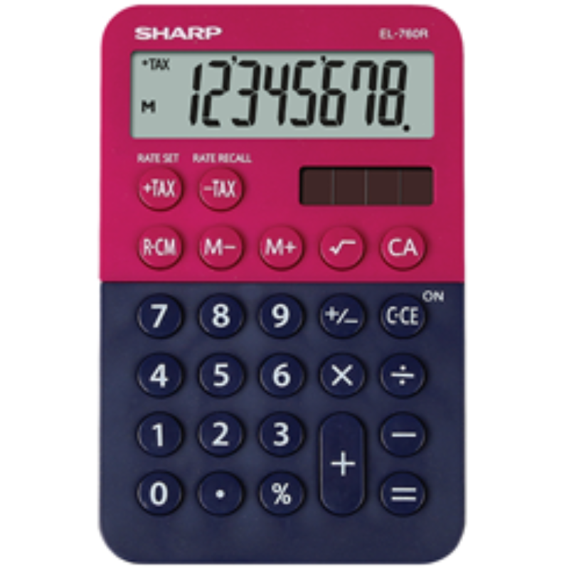 Sharp Calculator Model EL-760R