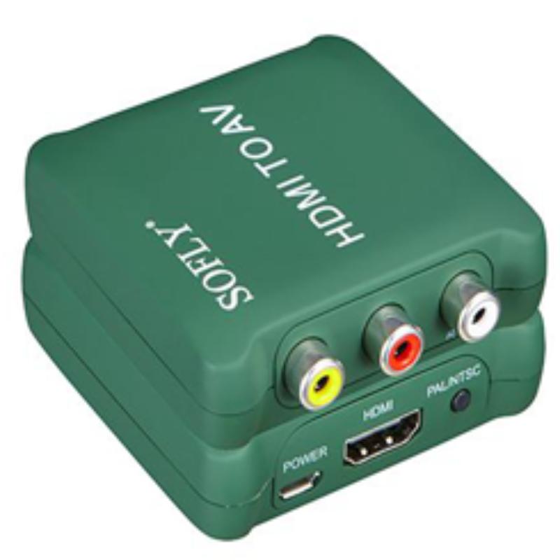 Plastic HDMI to AV converter Model HDCAV02-M