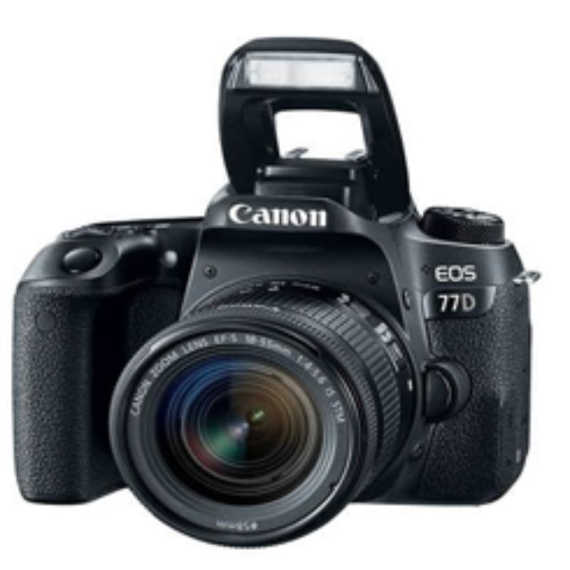 Canon Eos 77D Lens 18-55IS