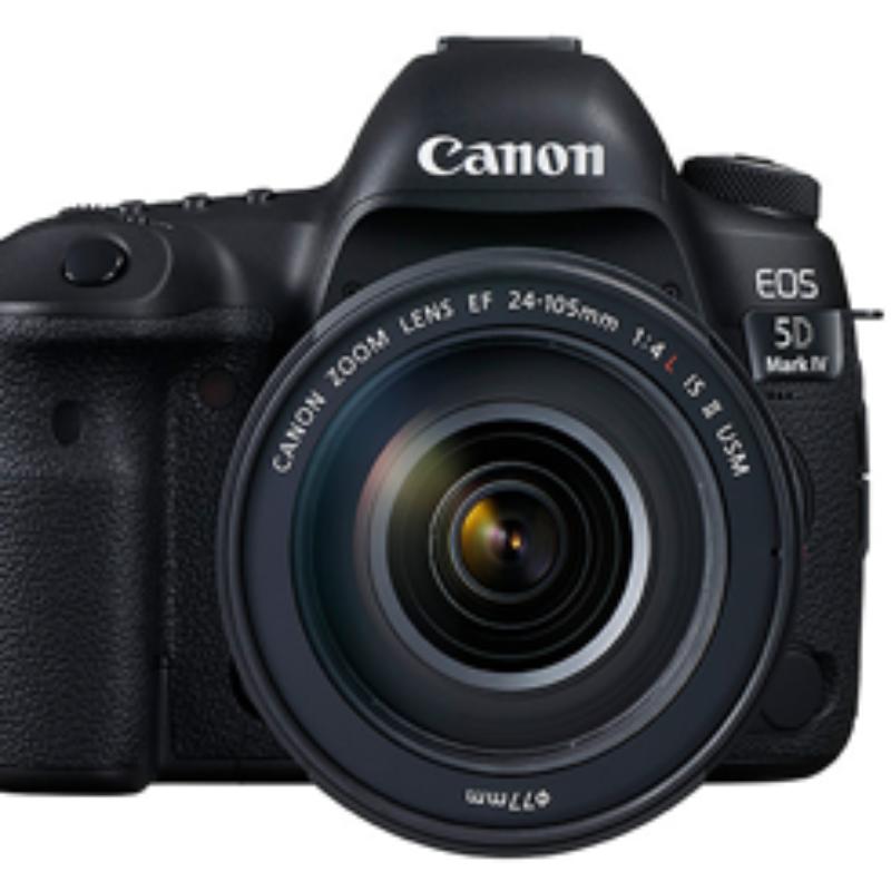 Canon EOS 5D Mark IV Lens 24-70 f/4L