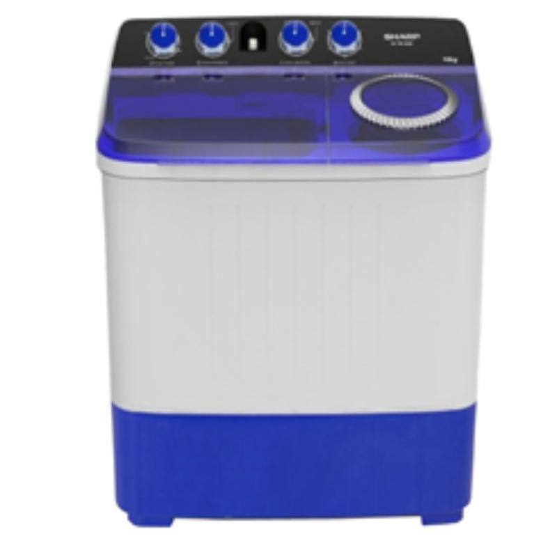 SHARP เครื่องซักผ้า 2 ถัง 12 KG รุ่น ES-TW120BL