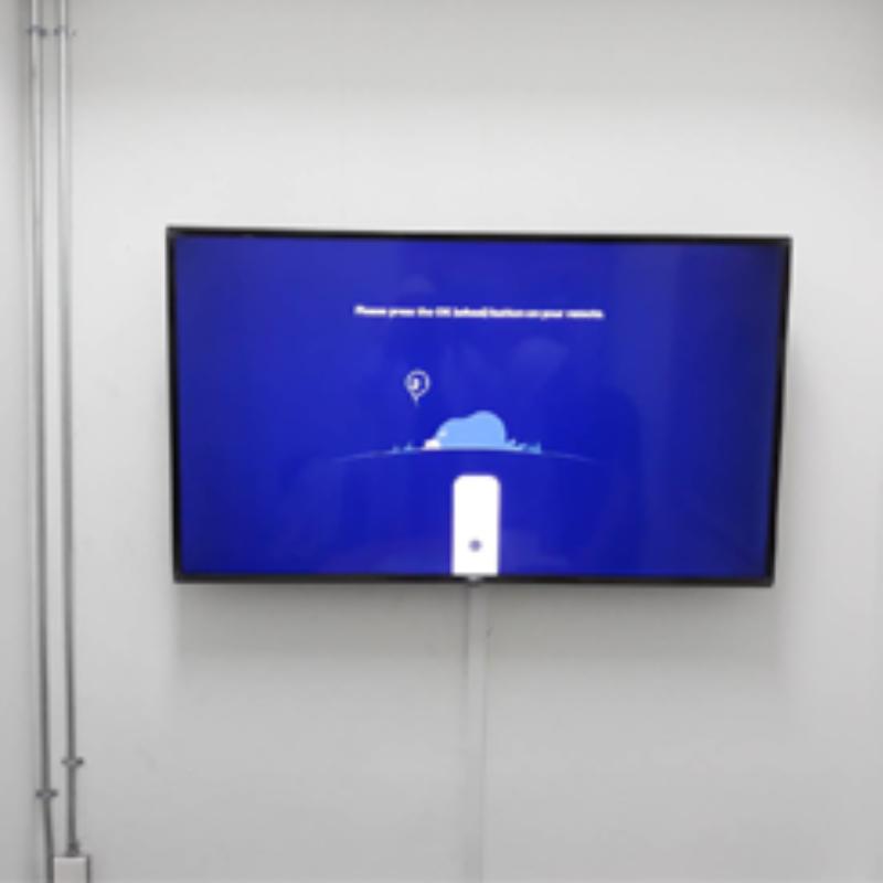 ผลงานการติดตั้ง : จอมอนิเตอร์ในห้องประชุม