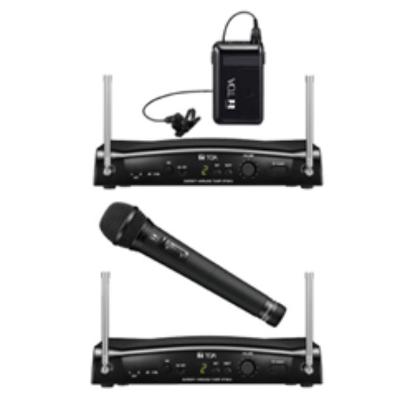 TOA UHF Wireless Microphone Sets