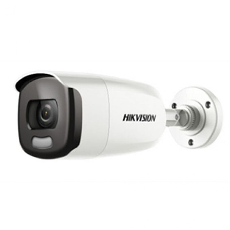Hikvision 2 MP ColorVu Fixed Bullet Camera รุ่น DS-2CE12DFT-F
