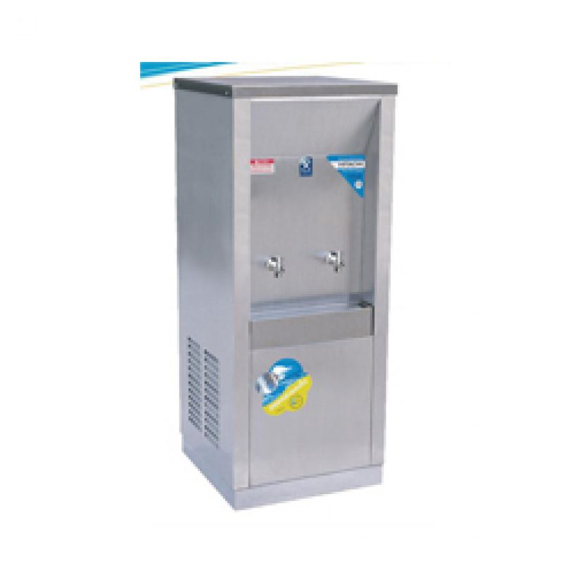 Maxcool ตู้ทำน้ำเย็น ต่อท่อประปา รังผึ้ง 2 ก๊อก รุ่น MC-2P
