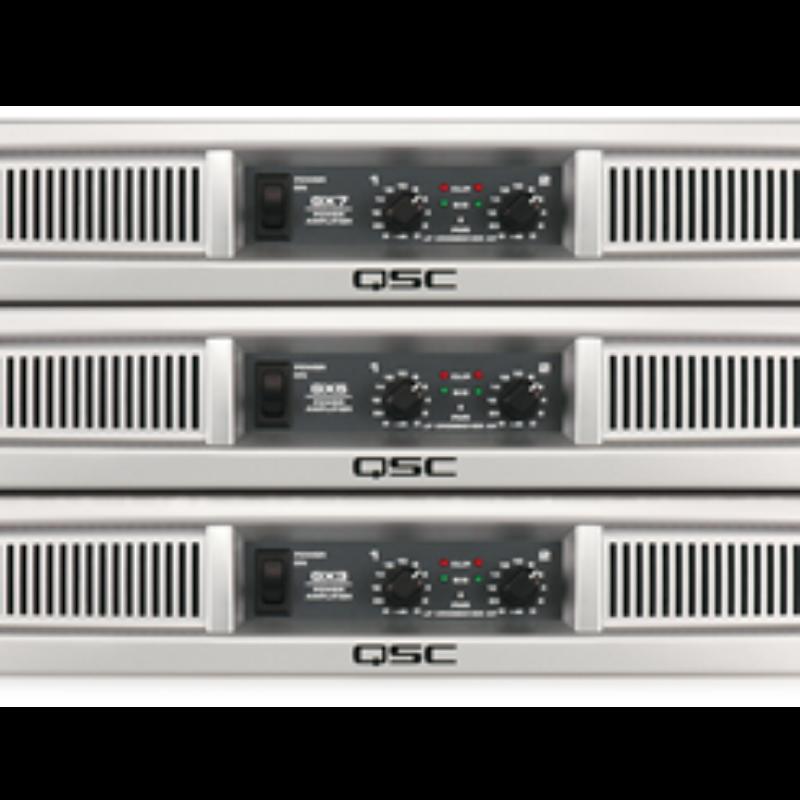 QSC Power Amplifier GX Series