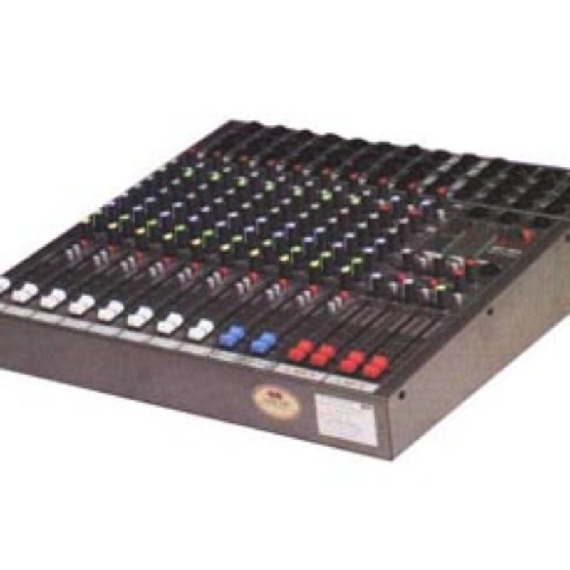 NPE 12 Channels Rack Mount Mixer With Digital Delay