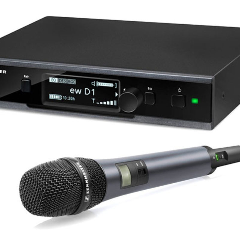 Sennheiser Microphone evolution wireless D1
