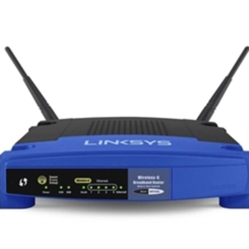 LINKSYS WIRELESS-G WI-FI ROUTER  Model WRT54GL