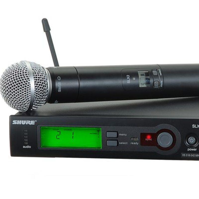 Shure Wireless Microphone  SLX